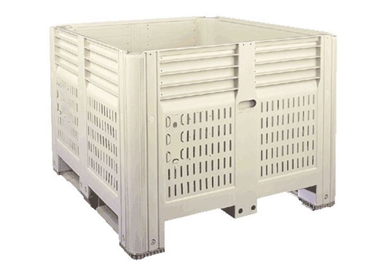 45 x 48 x 35 – Fixed Wall Bulk Container Vented