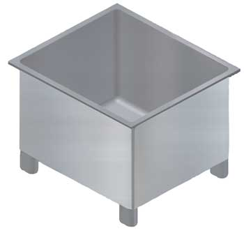 42 x 42 x 24 – Food Processing Bin