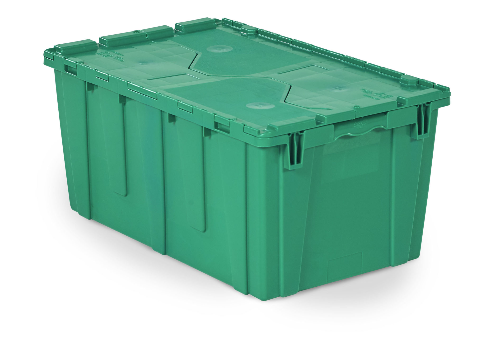 27 x 17 x 13 – Handheld Attached Lid Container