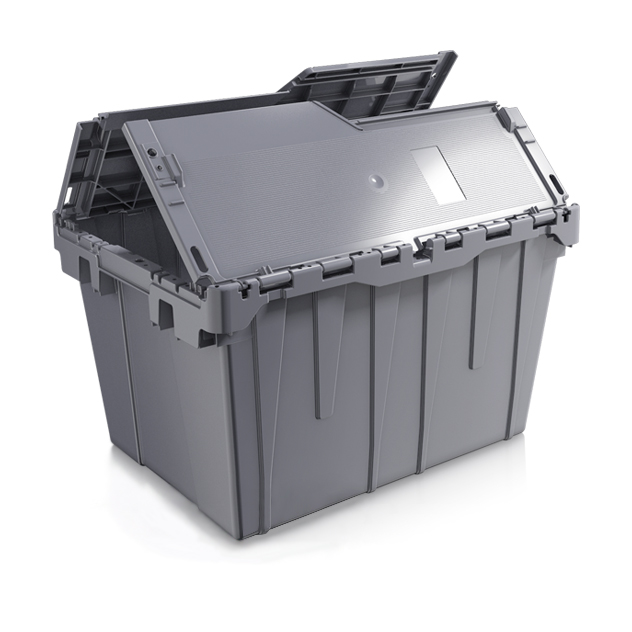 27 x 17 x 12 – Handheld Attached Lid Container