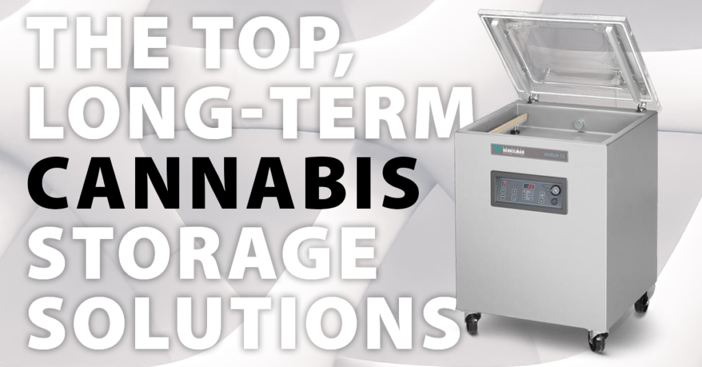 Commercial Cannabis Storage Vacuum Packer